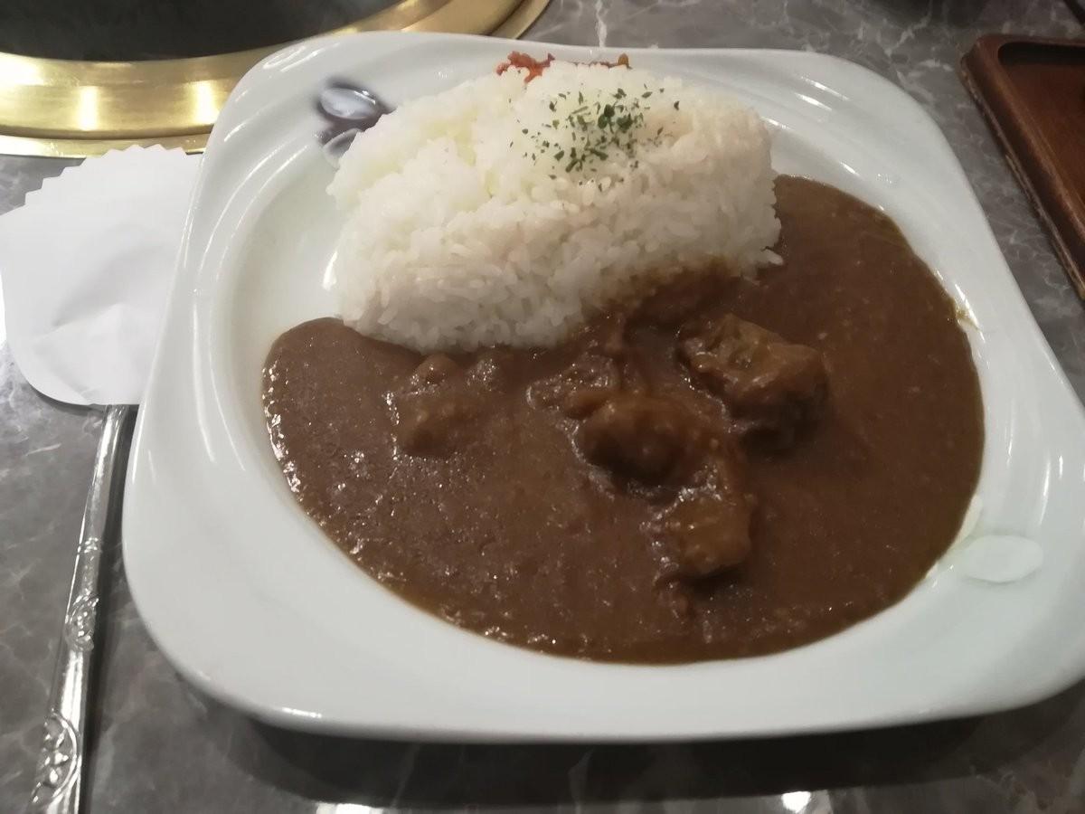 川崎駅東口の食道園、カレーも美味しい焼肉屋です