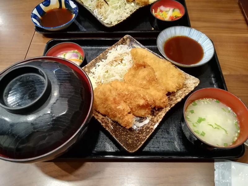 鶏味座 川崎アゼリア店 チキンカツ定食